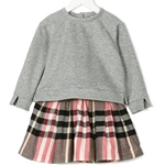Sweatkleid FRANCINE Check-Rock (8-12J)
