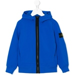 Softshelljacke royal Kapuze+Zip (8-14J)