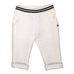 Sweathose Lurex-Steppmuster (9-18m)