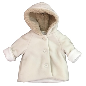 Fleece-Jacke Teddyfutter in Kapuze