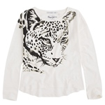 T-Shirt Leopardenkopf CHRISTY