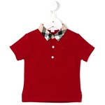 Poloshirt WILLIAM Karo-Kragen rot (2-7J)