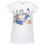 T-Shirt Donald Druck + Strass