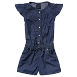 Jeans-Jumpsuit JOURNEY RUFFLES (4-7J)