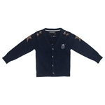Strickjacke Mickey Sterne+Badge (6-18m)