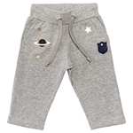 Jogginghose Weltall-Applikation (6-18m)