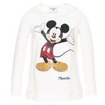T-Shirt Strass-Mickey (8-12J)