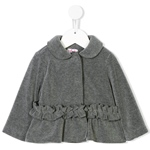 Fleecejacke Rüschenapplikation (9-18m)