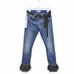 Jeans Federapplikation, Stretch