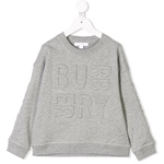 Sweatshirt HANK Logo ton-in-ton (3-6J)