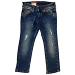 Jeans RIVETED destroyed-Optik (4-6J)