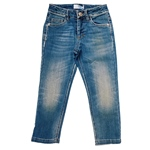 Jeans Used-Look Stretch 5-Pocket (4-7J)